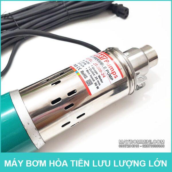 May Bom Chim Nang Luong Mat Troi 24v
