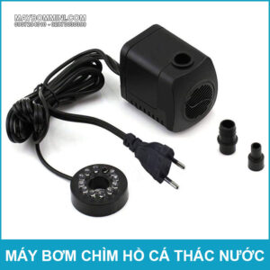 May Bom Nuoc Co Den LED Gia Re