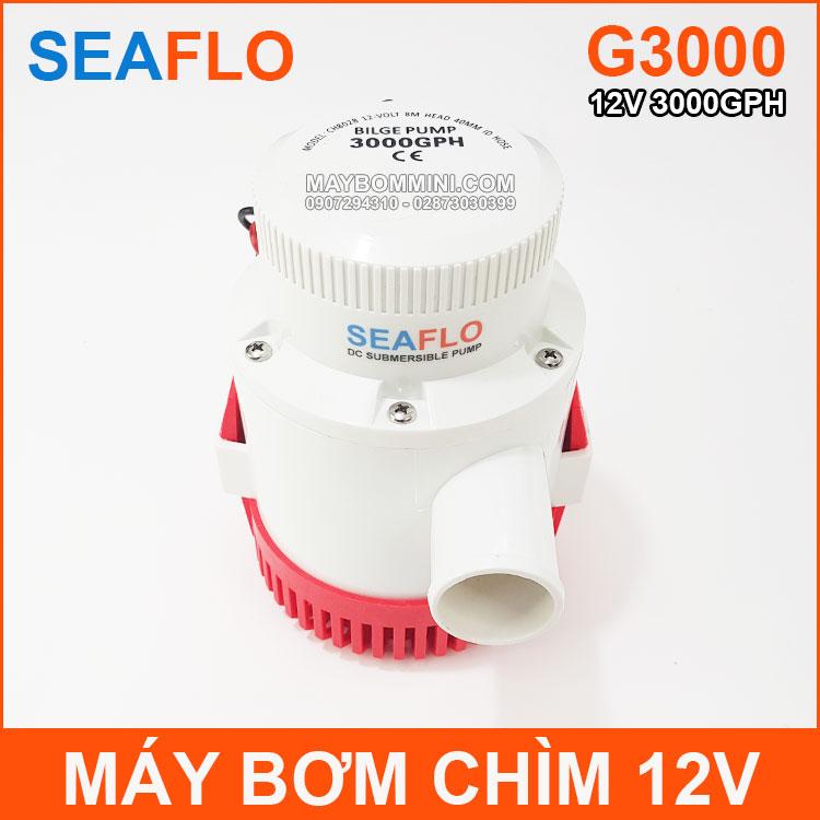 May Bom Chim 12v 3000GPH Seaflo