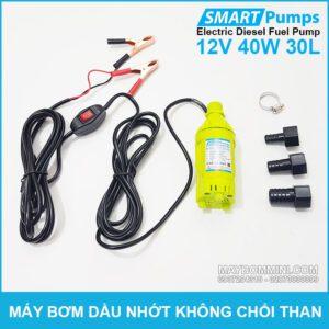 May Bom Dau DO 12V 30L Smartpumps Gia Re