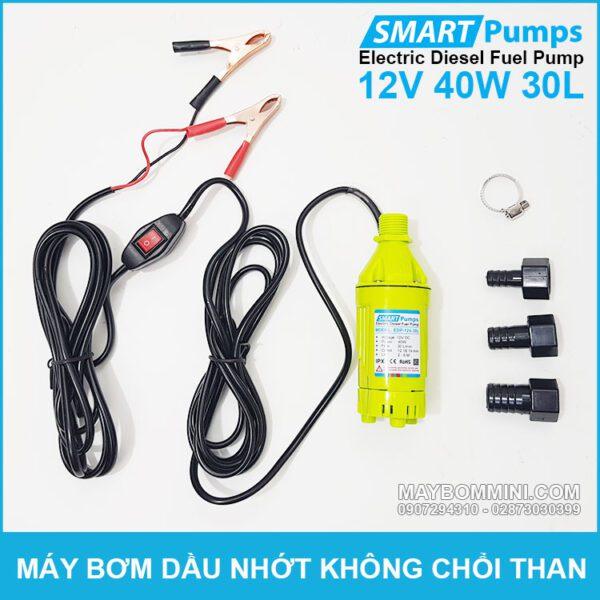 May Bom Dau Nhot 12v 40w 30l Smartpumps EDP 12V 30L