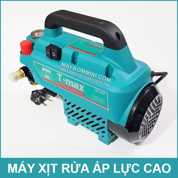 May Xit Rua Xe Ap Luc Cao 220v 2500W 12L 150bar T Max Gia Re