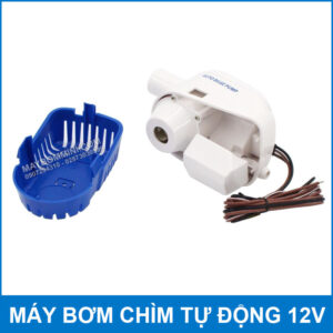 Chi Tiet May Bom Tu Dong Tau Thuyen Cano 12v