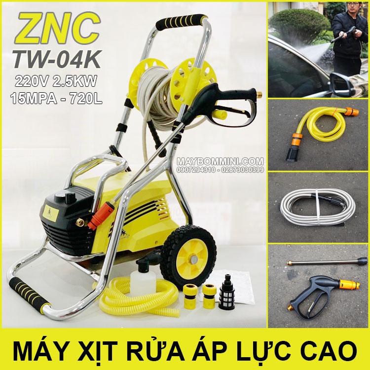 May Rua Xe Ap Luc Cao 220V 2500W ZNC TW 04K