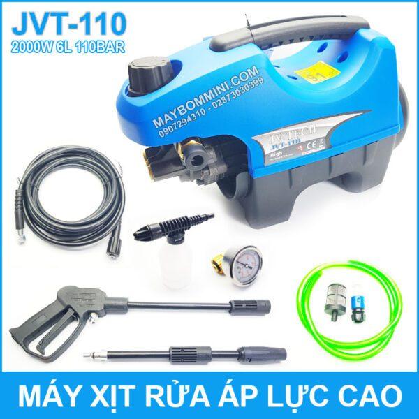 May Xit Rua Xe Ap Luc Cao 2000W JVT 110 JV TECH