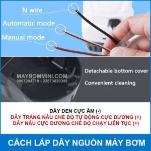 Cach Lap Day Nguon May Bom Chim Tu Dong