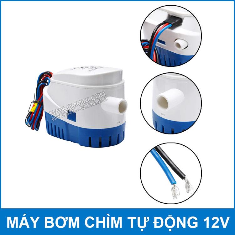 Cau Tao May Bom Tu Dong 12v Tha Chim