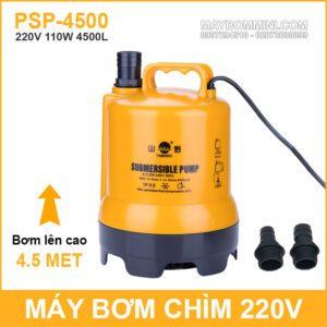May Bom Chim Nuoc Thai Nuoc Ngap Ho Ca Thac Nuoc 220V 110W 4500L