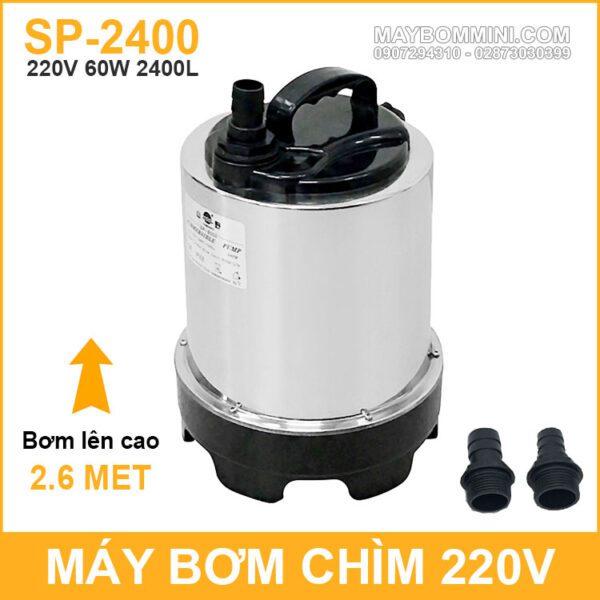 May Bom Chim Inox 220v 60W 2400L SP 2400 Yamano