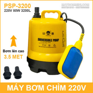 May Bom Chim Tu Dong Luu Luong Lon 220v 80W 3200L Yamano