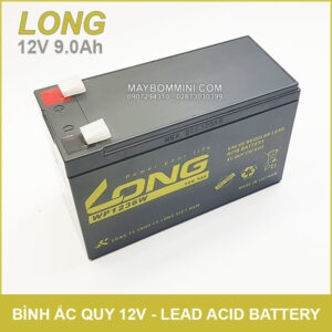 Ban Binh Ac Quy Kho 12V 9ah LONG