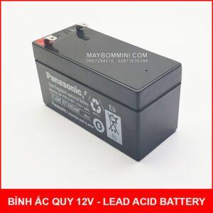 Binh Ac Quy Kho Panasonic 12V Mini 1400mah