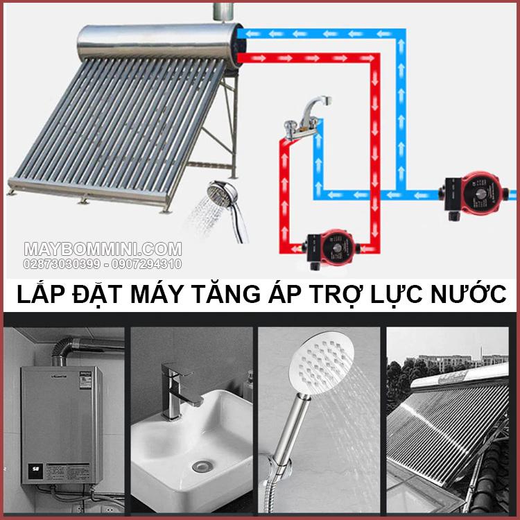 Lap Dat May Tang Ap Tro Luc Nuoc Tu Dong
