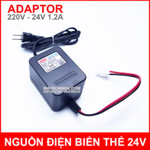 Adaptor 24V 1200mah Chinh Hang