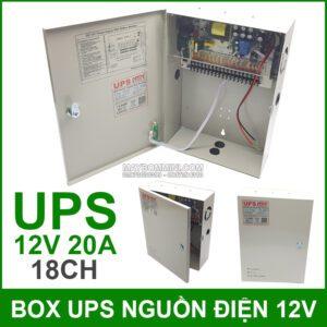 Box Nguon Dien Du Phong UPS 12V 20A