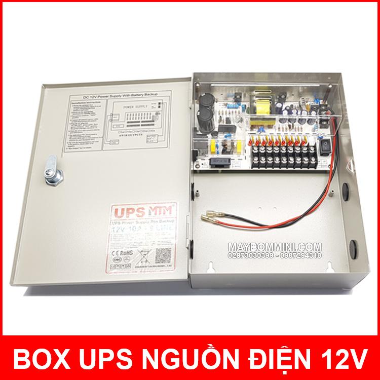 Box Ups Nguon Dien Du Phong 12V 10A MTM Chinh Hang