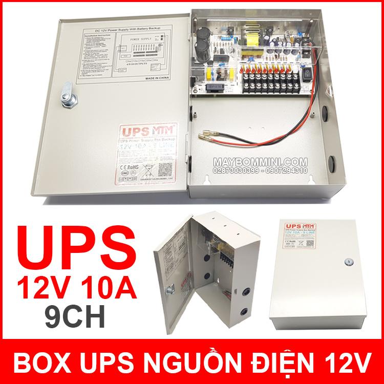 Box Ups Nguon Dien Du Phong 12V 10A MTM