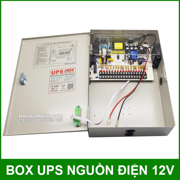 Power Supply UPS 12V 20A