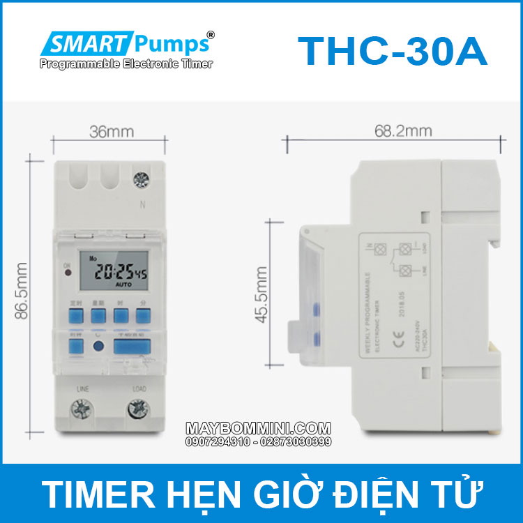Programmable Digital TIMER 30A