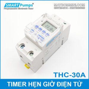 Timer Hen Gio Tat Mo Thiet Bi Dien Tu Smartpumps THC 30A