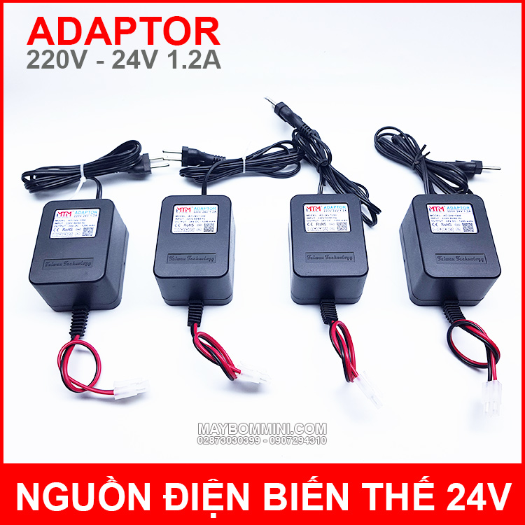 Adapter 220v 24v 1200mah MTM