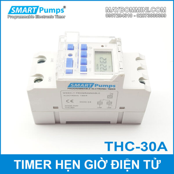 Timer Switch 220v Smartpumps 30A