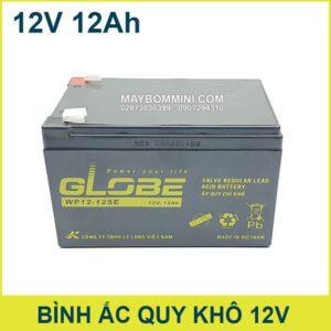 Binh Ac Quy Kho 12V 12Ah Globe