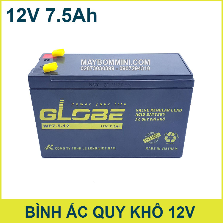 Binh Ac Quy Kho 12V 7500mAh