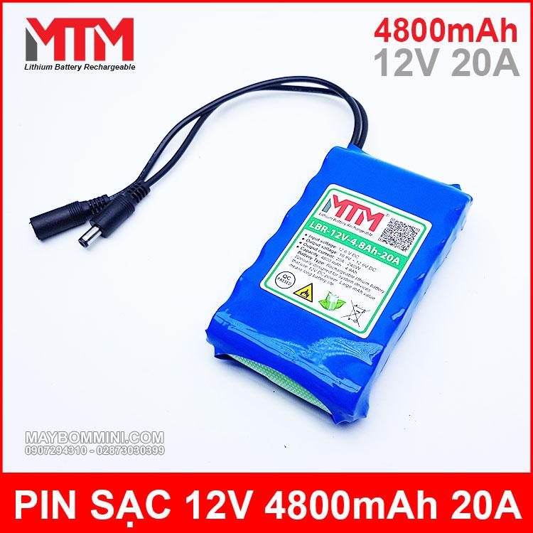 Pin 12v 4800mah Gia Re