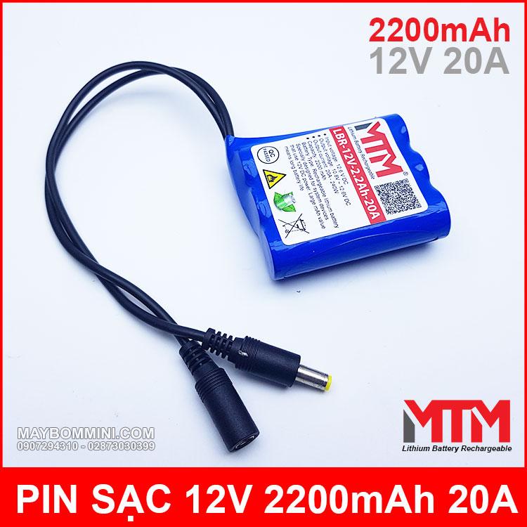Pin Sac 12v Lithium Cao Cap