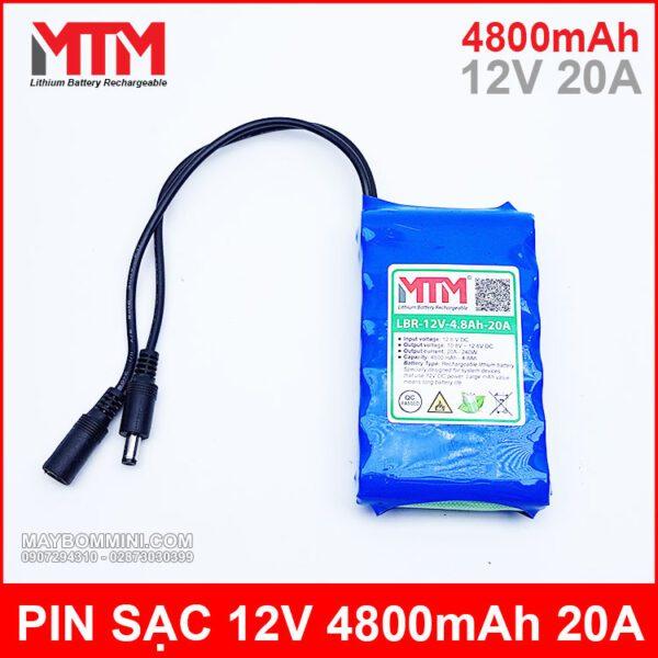Pin Sac Lion 12V Mah 20A Chinh Hang