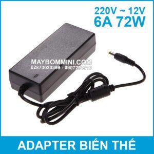 Adapter 12v 6a 72w Chinh Hang