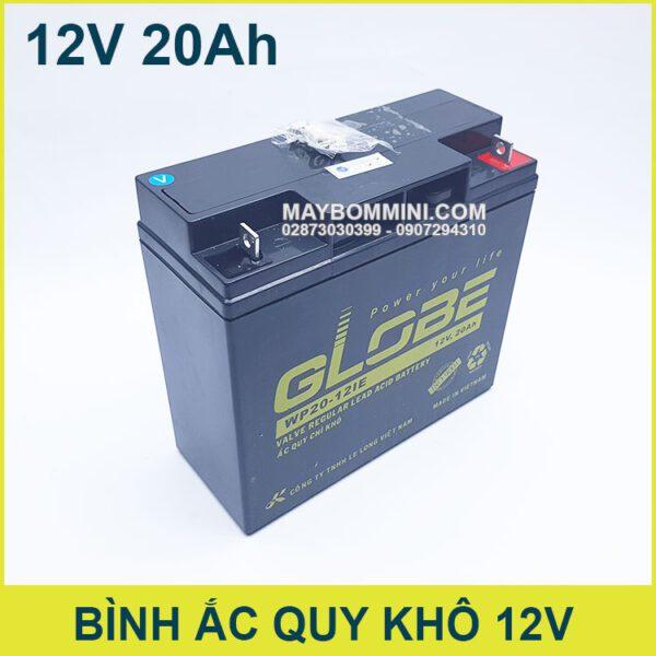Ban Binh Ac Quy Chinh Hang Gia Re 12v 20ah