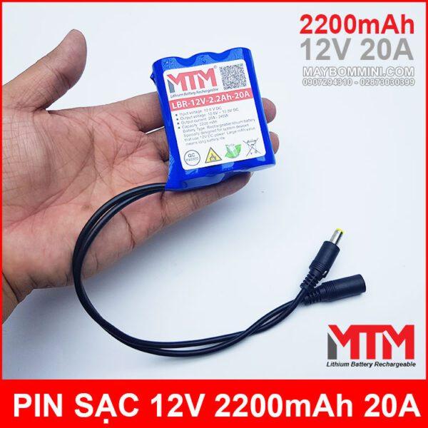 Ban Pin Sac 12v 2200mah Gia Tot