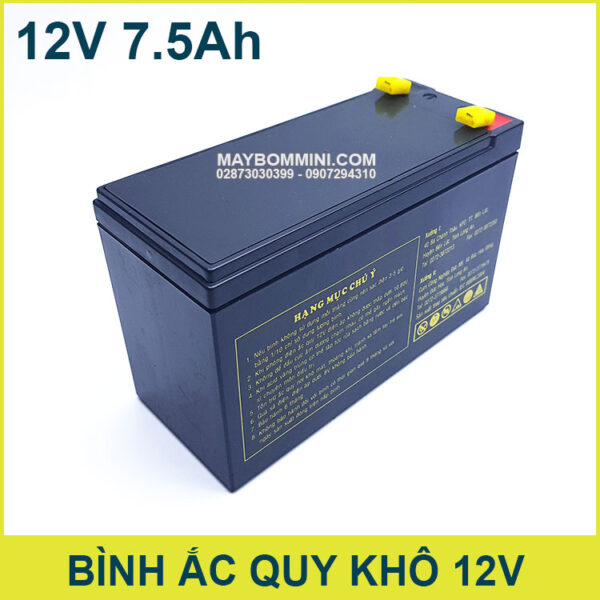 Binh Ac Quy Kho 12v Gia Re Chinh Hang Globe
