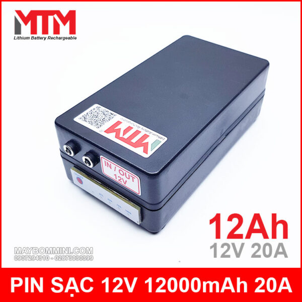 Box Pin 12v 12ag Gia Re