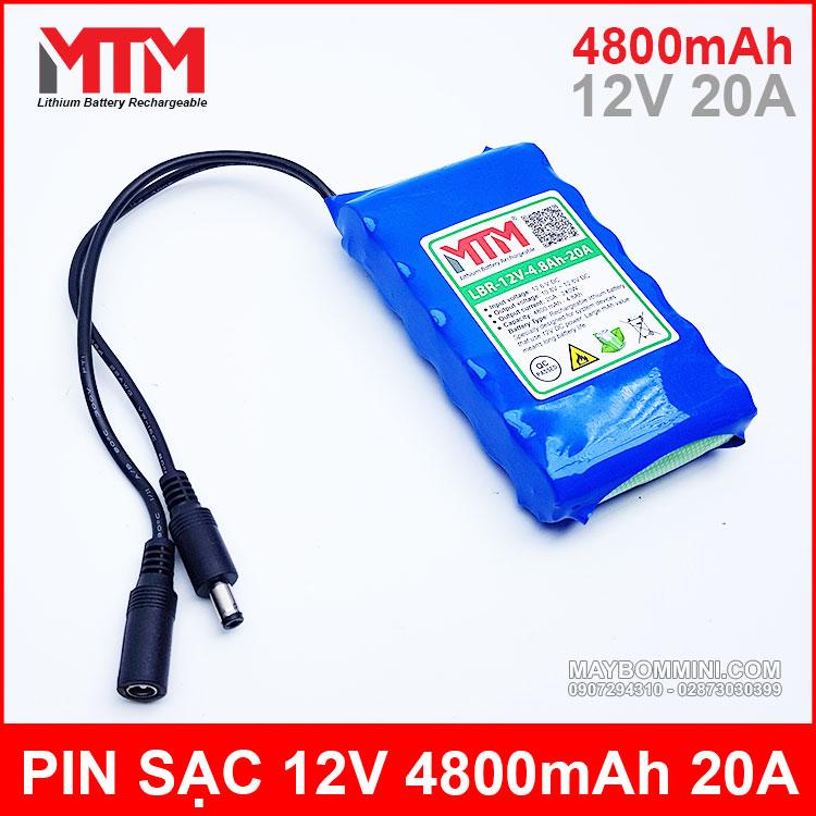 Chuyen Ban Pin 12v 4800mah Gia Tot