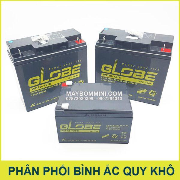 Cung Capi Binh Ac Quy Kho Globe Viet Nam