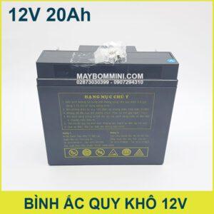 Hang Muc Chu Y Binh Ac Quy Kho 12v