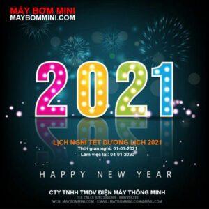 May Bom Mini Lich Nghi Tet Duong Lich 2021