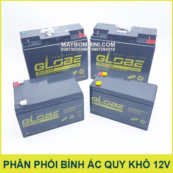Nha Phan Phoi Binh Ac Quy Kho Globe Viet Nam