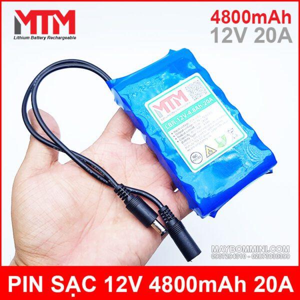 Pin 12v Chiu Tai 20A 4800mah