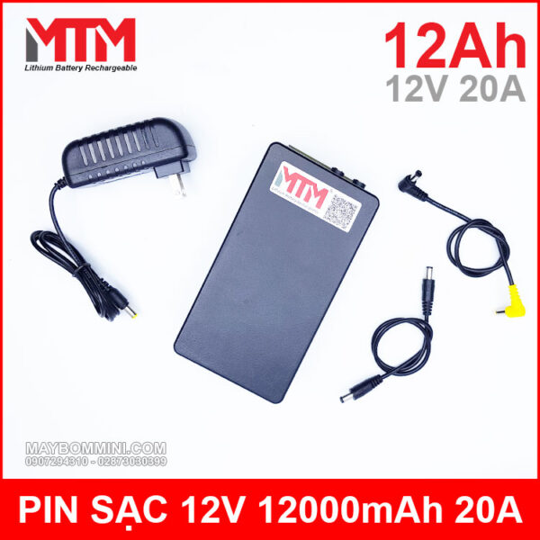 Pin 12v Den Led Ups Du Phong