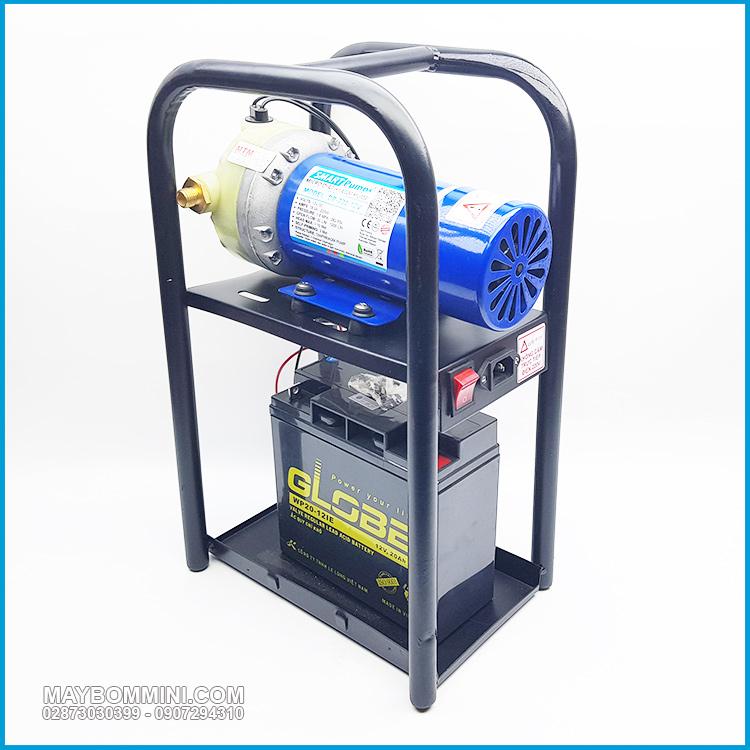 Bom Nuoc Mini Ap Luc Cao 12V 220W Smartpumps Gia Re
