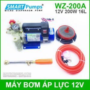 May Bom Ap Luc 12V 200W WZ 200A Smartpumps