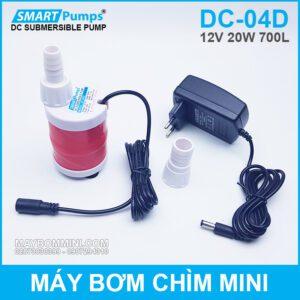 Bom Chim Mini 12v DC 04D Kem Nguon