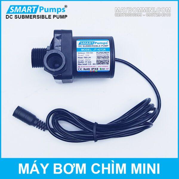 Bom Nuoc Mini 12v Chinh Hang