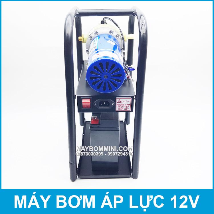 Bom Nuoc Mini Ap 12v 220W 12V Chay Binh Ac Quy