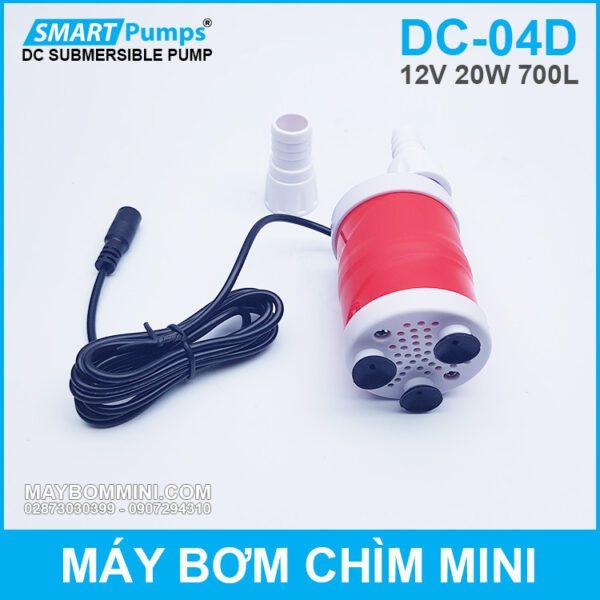 Bom Nuoc Mini Tha Chim Ho Ca 12v Gia Re