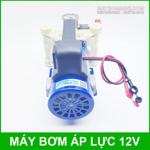 May Bom Rua Xe Mini 12v 200W Cao Cap